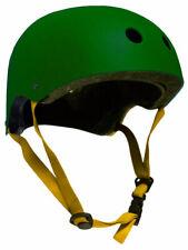 CPSC Skateboard Fitness Inline Helmet ADULT OSFA HUNTER GREEN/YELLOW