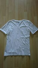 Mens Size Small White V Neck Top from Next