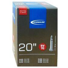 Schwalbe SV 7C extra léger Chambre à air vélo 20″ 20x1.75-2.35″ 40/60-406 sv40mm