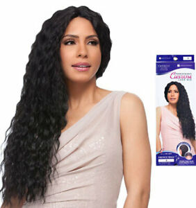 Sensationnel Synthetic LaceFront Long Wavy Wig Custom Lace French Wave