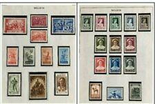 Belgium Mint Stamp Collection #2 Sc. B555-8,B460-61,B407,B498- 502,B532-7,B555-7