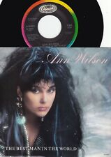 Ann Wilson ORIG US PS 45 The best man in the world NM '86 Heart Hard Rock