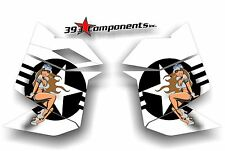 SKI DOO REV XP SNOWMOBILE SLED GRAPHICS DECAL STICKER KIT SIDE PANEL PINUP