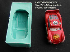 Silicone Mould LIGHTNING MCQUEEN Sugarcraft Cake Decorating Fondant / fimo mold