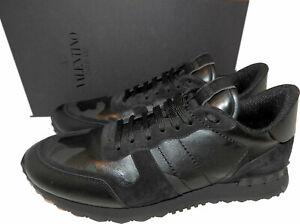 VALENTINO GARAVANI Rockstud Camo Trainer Athletic Sneakers  Shoes 11 Rockrunners