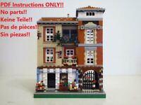 Spanish Grocer LEGO Building Instruction 10182 10185 10190 10197 10211 10218