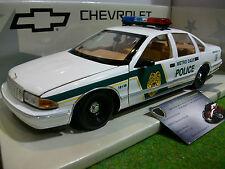 CHEVROLET CAPRICE METRO DADE POLICE CAR 1/18 d UT Models 21024 voiture miniature