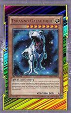 Tyranno Galactique PRIO-FR003 Lumière Dinosaure Effet Niveau 8 YGO