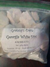 Georgia White Kaolin Clay Chunks White Dirt FAST Shipping