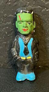 Vintage Frankenstein Painted Doll