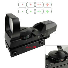 Holographic 4 Type Reticle Red Green Dot Scopes Sight w/Picatinny Weaver Rail *
