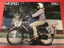 1983 Honda PA50 II Moped Sales Brochure - Literature