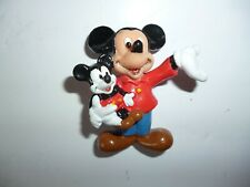Disney Mickey and Friends Character Figure - Mickey Mouse Holding Mickey Doll