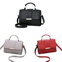 Sommer Mode Frauen Tasche Handtaschen PU Umhänge Tasche Kleine Klappe Kreuz Y7P2
