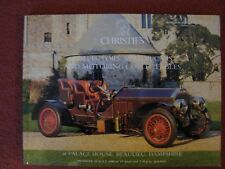 Christie's Car Auction Catalogue 10 July 1989 at Palace House, Beaulieu