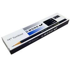 Tombow MONO J 2B Wood-cased Pencils 12-Piece