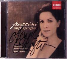 Angela GHEORGHIU Signiert PUCCINI Madama Butterfly Rondine Boheme Edgar Turandot