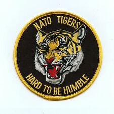 RCAF CAF Canadian NATO Tigers Hard to Be Humble Colour Crest Patch