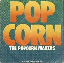 45 TOURS  2 TITRES / POP CORN    THE POPCORN MAKERS      B15