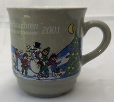 +Frohe Weihnachten Gluhwein Mug Coffee Tea Cup Heidelberger Weihnachtsmarkt 2001