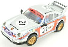 "Cartronic ""Martini"" Porsche 911 GT2 W/ Lights 1/32 Scale Slot Car 36-07740"