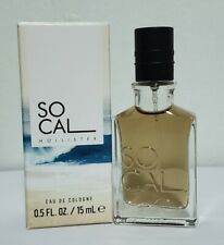 Hollister So Cal Eau De Cologne for MEN 0.5 fl oz/ 15 ml. 100% AUTHENTIC Sealed
