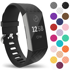 For Fitbit Charge 3 & 4 Wrist Straps Wristband Replacement Accessory Watch Band