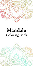 Mandala Coloring Book with 30 Beautiful Coloring Sheet (PDF)