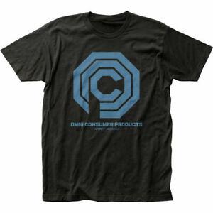 Robocop OCP T Shirt Mens Licensed Pop Culture Police Cop Movie Tee New Black