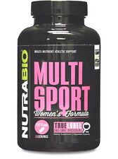 NutraBio MultiSport Women's Performance Multivitamin - 120 vcaps MUSCLE VITAMINS