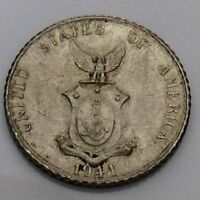 1944 Ten 10 Centavos Filipinas United States Philippines Circulated Coin F742
