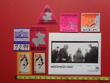 Widespread Panic,promo photo,7 Rare original Backstage passes,Otto