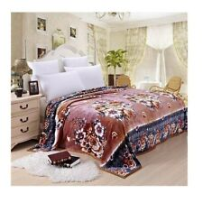 Two-side Blanket Bedding Throw Coral fleece Super Soft Warm Value 180cm 35