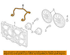 Chevrolet GM OEM 12-13 Caprice Engine Cooling Fan-Wiring Harness 92255746