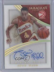 2014-15 Panini Immaculate Shadowbox Signatures Gold /10 Spud Webb #SH-SW Auto
