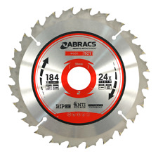 184MM TCT Circular Wood Saw Blades 184mm x 24 Teeth TCT Blade Rip Disc Cut 24T