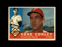1960 Topps Baseball #293 Gene Conley (Phillies) NM