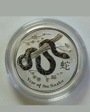 1/2 OZ SILVER AUSTRALIAN PERTH MINT YEAR OF THE SNAKE 2013