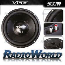 "Vibe SUB 12"" 30cm Pulse SUBWOOFER CAR AUDIO BASS 900W 4Ohm Altoparlante SVC"