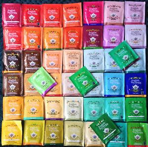 """""""ENGLISH TEA SHOP """" 46 Different  Enveloped Tea Bags"""