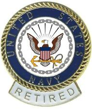 Navy Retired Tie Tac Fast Usa Ship Navy Retired Lapel Pin Hat Pin United States