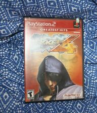 Tekken 4 (Sony PlayStation 2, 2002) complete with manual