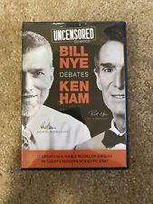 Bill Nye Debates Ken Ham - Uncensored Science (4-Disc DVD Set, 2014)