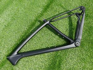 """Toray Carbon 29ER Mountain Bike Frame UD Matt BSA MTB Frame 17""""  QR 135 * 9mm"""