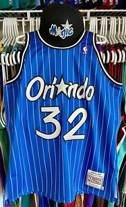 Authentic Shaquille O'Neal Orlando Magic Mitchell & Ness Jersey 48 XL NEW Nike