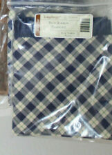 New Longaberger Blue Ribbon Canning Fabric For Basket