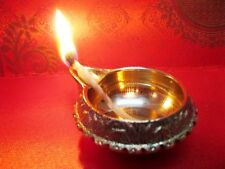 Kuber Brass Lamp Oil Diyas Diya Hindu Puja Religious Temple Wealth Prosperity