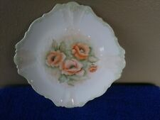 Stunning Hand Painted Decorative Plate with Beautiful Poppy's by Jane Anderson