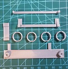 Gameboy Zero 3D Printed DMG-01 Screw Bracket Parts Button Wells