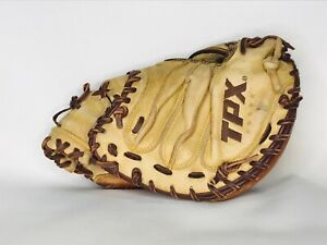 "Louisville Slugger TPX RHT 33"" Baseball Catchers Mitt Leather Hoss Series TPXCMH"